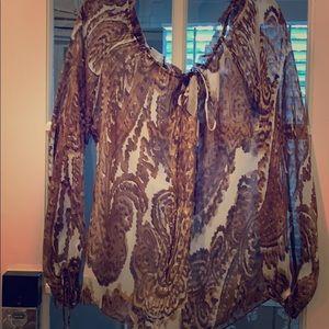 Beautiful silk Milly blouse
